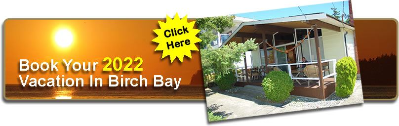 Book Your 2016 Birch Bay Vacation Rental Here